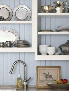 open kitchen shelves, my next DIY? #interior #kitchen #shelves