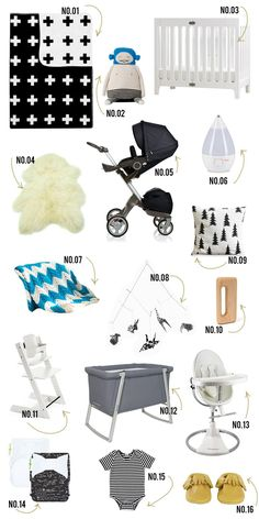 Baby boy list (Bluebird Vintage)