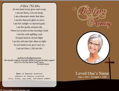 The Funeral-Memorial Program Blog: Catholic Funeral Mass Program Cards for the Deceased