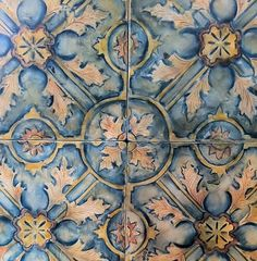 Old Malacca Tile by Filmore Clark