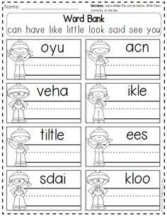 winter break, kindergarten files, kindergarten free printables