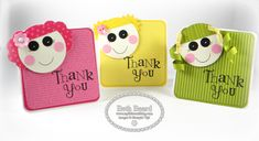 Lalaloopsy Punch Art Thank You Notes by Mylittlecraftblog - Cards and Paper Crafts at Splitcoaststampers