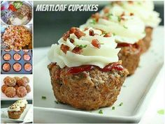Meatloaf cupcakes!!