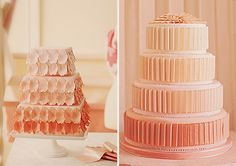 desserts, frostings, inspiration, foods, peach weddings