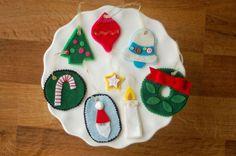 symbols of Christmas ornaments