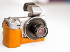 Using Pentax 110 Lenses on Sony NEX Cameras. © Jim Fisher