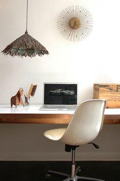Rustic Modern Office #home, #office, #homeoffice, #pinsland, #interior, https://apps.facebook.com/yangutu
