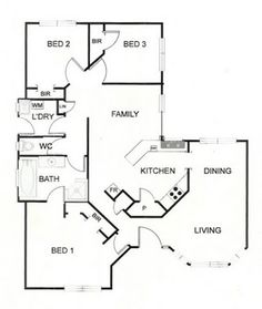 small home floor plan