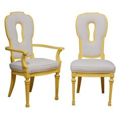 key hole dining chairs