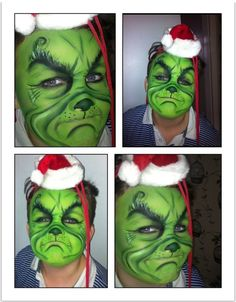 Grinch Instagram cakefacetrace