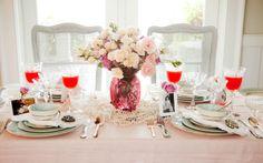 Savannah Style: Setting a Beautiful Mother's Day Table on PaulaDeen.com