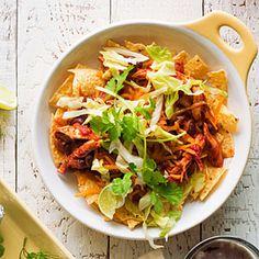 37 easy camping recipes | Chicken Enchilada Nacho Bowls | Sunset.com