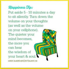 Happiness Tip