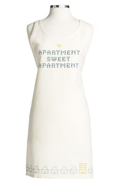 How adorable is this 'Sweet Apartment' Apron