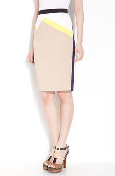 Colorblock Skirt for Spring