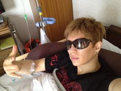Idiot Gackt puts himself in the hospital over a radio show.