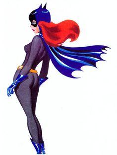 Batgirl by Bruce Timm