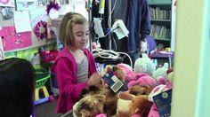 UC Davis Children's Hospital patients make new furry friends at Build-a-Bear Workshop