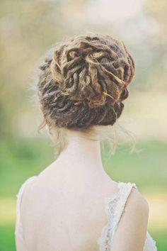 cute french braid hairstyles : Cute dread styles on Pinterest Dreadlocks, Natural Hair Accessories ...