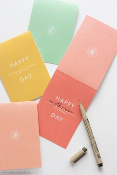 Free Printable: happy anything cards