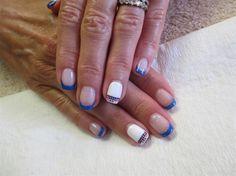 4th of July nail art by irinavk2 - Nail Art Gallery nailartgallery.nailsmag.com by Nails Magazine www.nailsmag.com #nailart