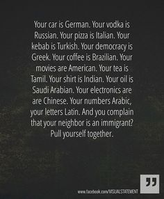 immigrants in your life