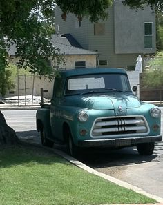 Old truck love.