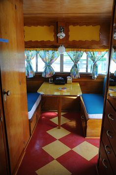 Retro camper restoration