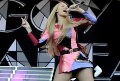 "Iggy Azalea gets ""Fancy"" during a performance at the 2014 Austin City Limits Music Festival on Oct. 4 at Zilker Park in Austin, Texas"