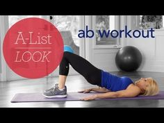 Superstar Abs Workout | A-List Look With Valerie Waters  | In this abs routine, I'm going to give you the exercises you need to tone one of the toughest problem areas.