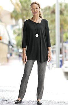 Wearever soft-angles tunic | www.jjill.com