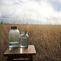 houses, aqua blue, green, colors, prairi, inspir, mason jars, blues, fields
