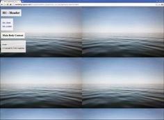 CSS3 Responsive Website Background Tutorial