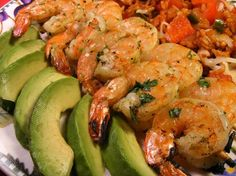 Cilantro Lime Shrimp with a Honey Lime Dipping Sauce.