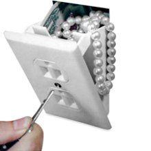 wall outlet hidden safe