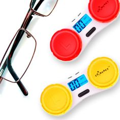 If you are one among us who usually have a takes a lot of time to remember when the lens was replaced the last time, then here is a product which comes in handy: Countact Lens Case, which will do the remembering for you. It has a small countdown timer to a normal contacts lens case that lets one know when their contacts need changing.