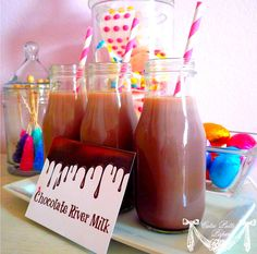 wonka chocolate river