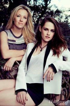 Kristen Stewart and her stylist Tara Swennen & Video for the Hollywood Reporter | March 2014