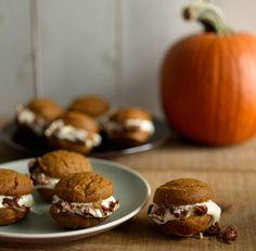 Pumpkin Whoopie Pies Recipe  | Epicurious.com