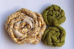 French Twist Fabric Flowers