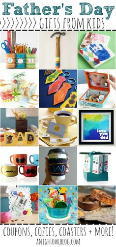 15 Fantastic Father's Day Gift Ideas from Kids #fathersday #gifts