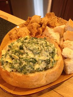 Almost Famous Spinach Dip!