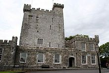 Knappogue Castle, built in 1467, is located in County Clare, Ireland. It was built by Sean Mac Conmara, and is a good example of a medieval tower house. It has a long and varied history, from a battlefield to a dwelling place.