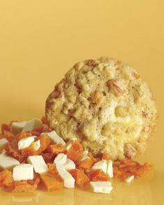 Oatmeal Cookies with Dried Apricots and White Chocolate Recipe
