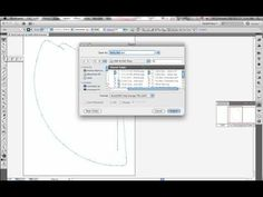 Create Silhouette cut files in Adobe Illustrator! (how to export as a DXF file to be opened in Silhouette Studio or another cutting machine program that requires a dxf file). http://youtu.be/riRO4e0ze8E