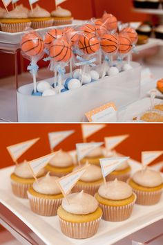 Basketball Party Ideas - may need this someday for my budding b-ball player!