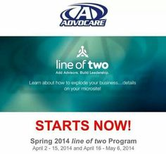 Don't miss out on this unique opportunity to achieve 40% discount on #AdvoCare products for LIFE! https://www.advocare.com/01042679/Promotions/LineOfTwo/default.aspx