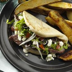 Beef Gyros Recipe from Taste of Home