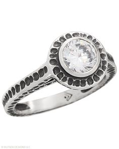 "Say ""I do"" to #Silpada with this #SterlingSilver and #CubicZirconia #Ring. #Silpada #Sparkle"