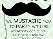 Nicks Mustache Party